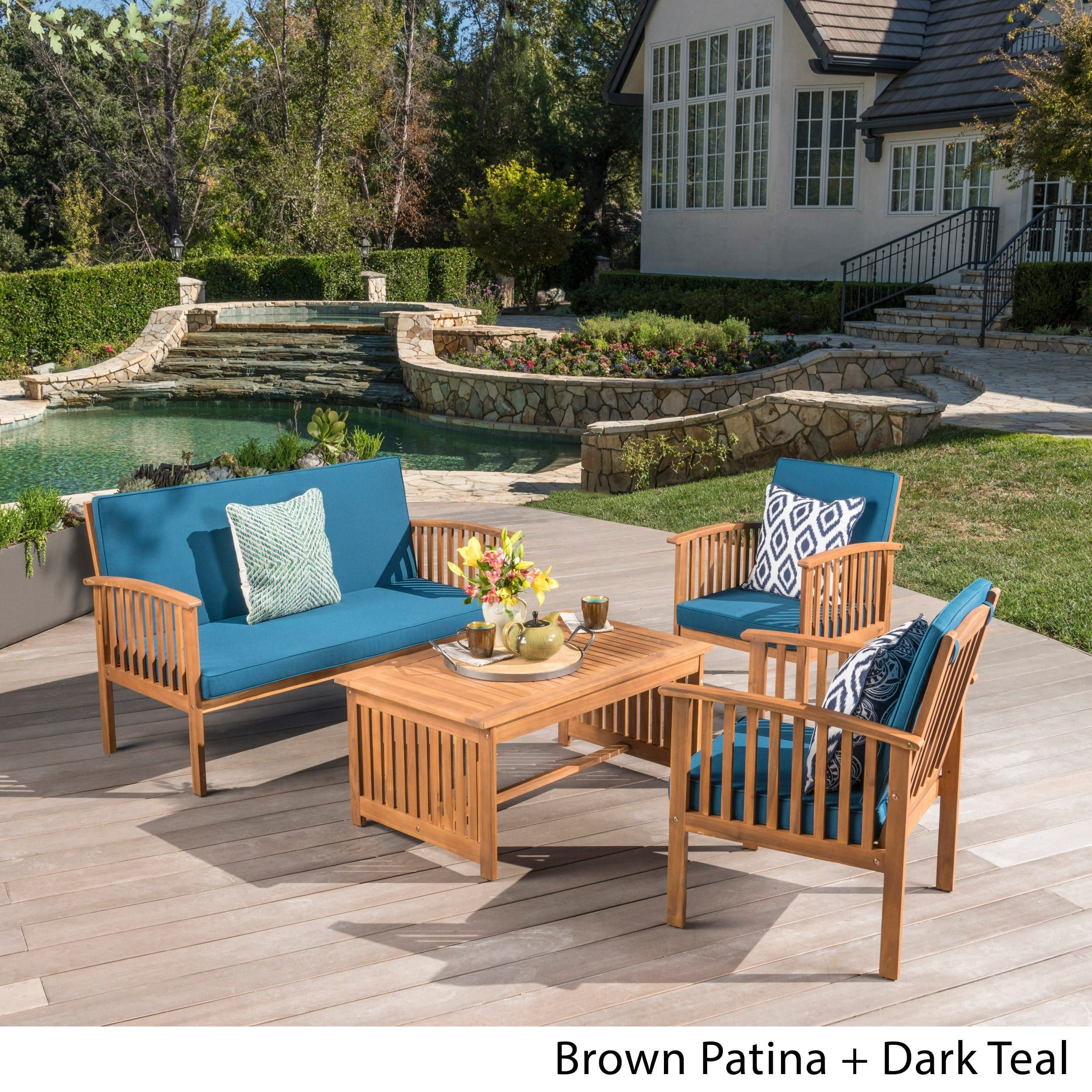 patio stationary coffee set df bahamas table furniture sofa seating lovely of picture piece