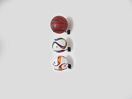 Wandhalterung Ball Halter Ballhalterung für Basketbälle Fußball Football