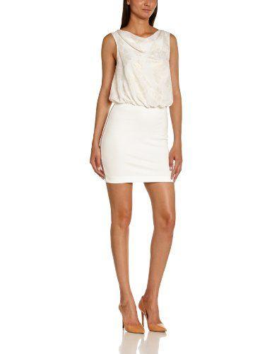 Vero Moda - Vestito Moda, Senza maniche, Donna, bianco (Blanc (Snow White)), M null http://ebay.to/1Gku8uN