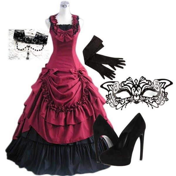 Masquerade Ball Outfit | Polyvore | Pinterest | Masquerade Ball Masquerades And Costumes