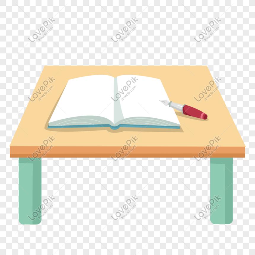 مكتب مع كتاب مفتوح وقلم Mobile Wallpaper Open Book Wallpaper