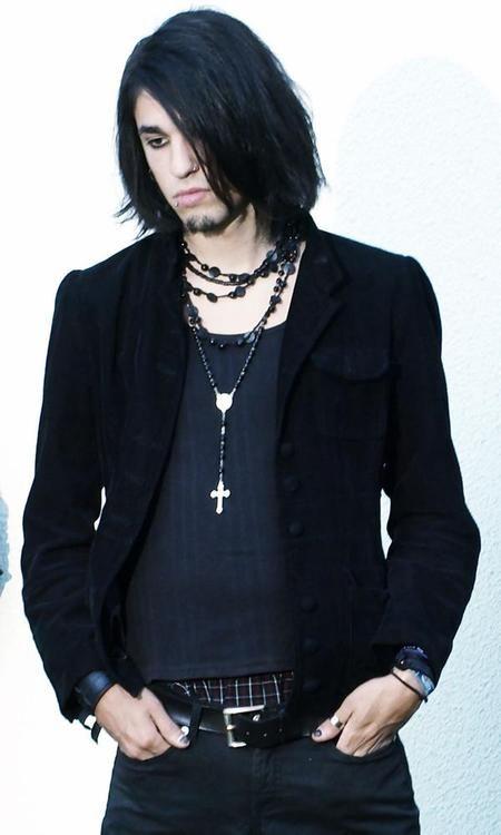 Gorgeous Long Haired Men Gothic Fashion Long Hair Styles Men Fashion