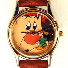 """Mickey And The Beanstalk """"Willie The Giant"""" Fossil Disney Unworn Watch $99"""