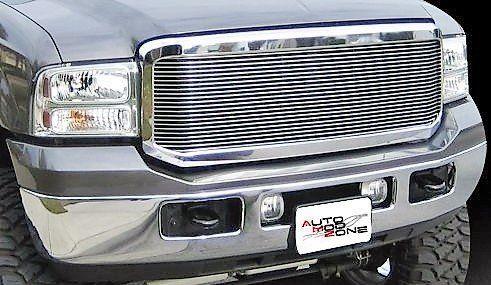 1999 2004 Ford Aluminum Billet Grille Grill Insert F250 F350 F 250 F 350 F450 F 450 F550 F 550 Ford F250 F250 F350