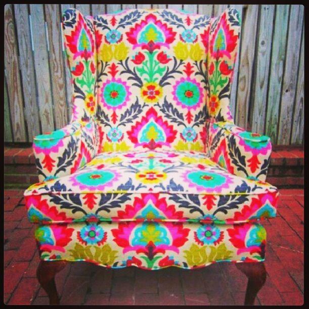 Bright Armchair
