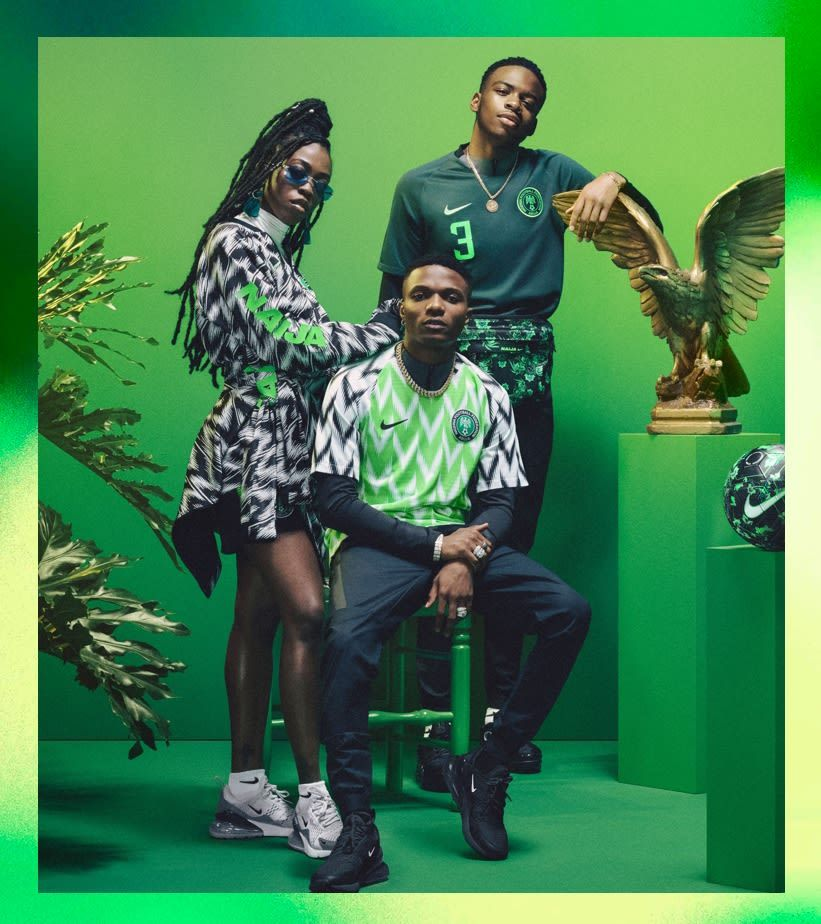 official photos 31e16 e96f8 2018 Nigeria National Team Kit - Nike | Athletic Apparel in ...