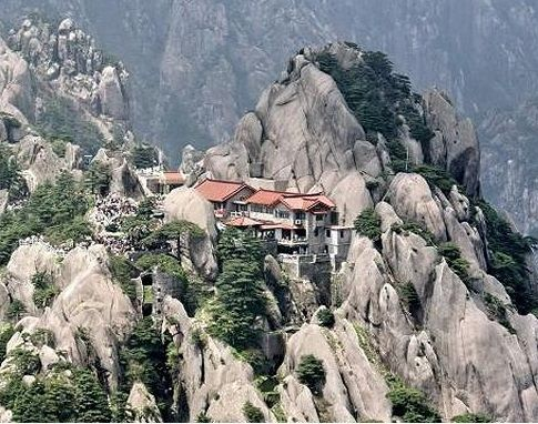 Image result for Jade Screen Tower Hotel, Gunung Yuping, China
