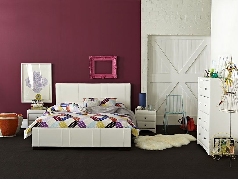 Attrayant When It Comes To Colour In A Contemporary Bedroom, The Rules Are Simple.  Keep