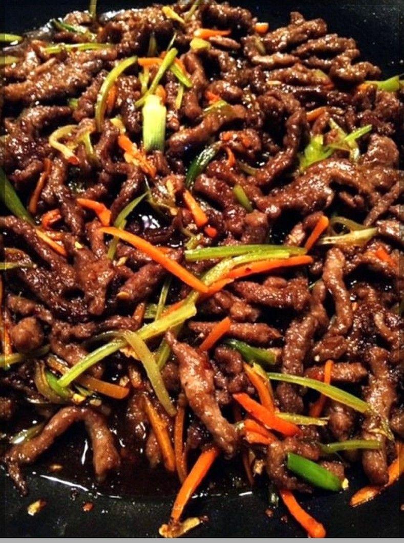 Szechuan Beef Takeout Recipe Beef Stir Fry Recipes Szechuan Beef Beef Recipes