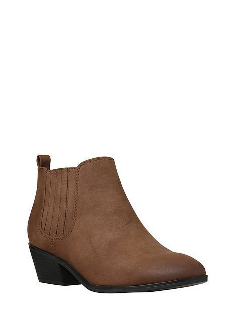 tesco direct f f western low ankle boots outfits low. Black Bedroom Furniture Sets. Home Design Ideas