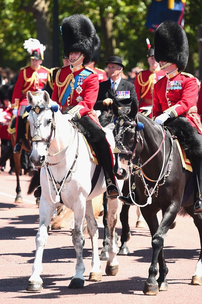 Prince William Photos Photos Colonel's Review Trooping