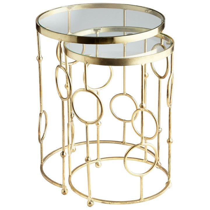 Perseus Nesting Tables - Set of Two