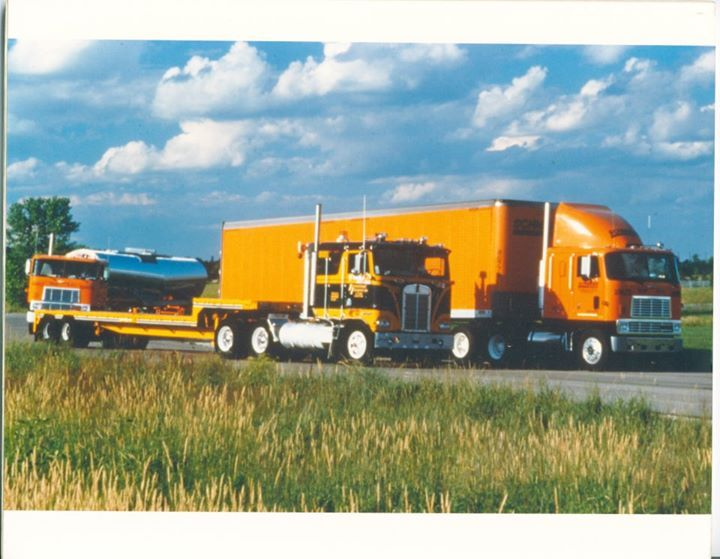 Do you remember seeing these semi-trucks on the road? #ThrowbackThursday