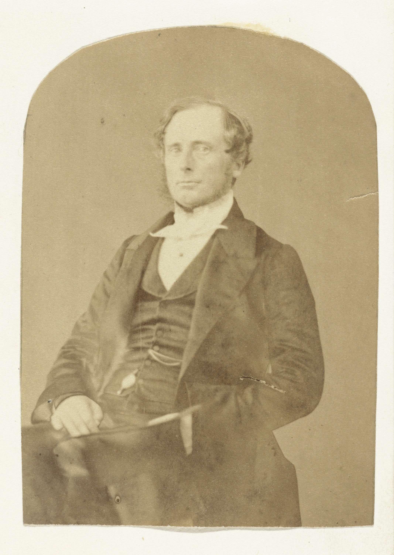 Anonymous | Portret van een onbekende man, Anonymous, c. 1860 - c. 1880 |