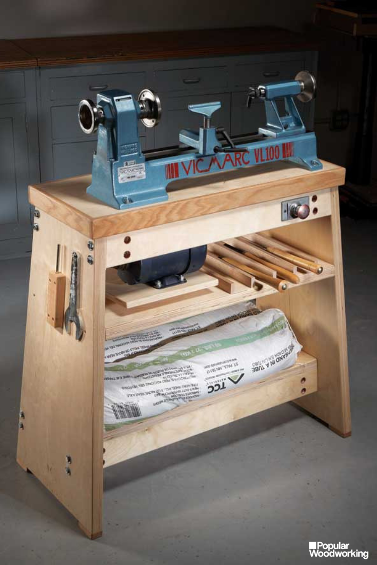 Photo of Ultimate Lathe Stand | Popular Woodworking Magazine