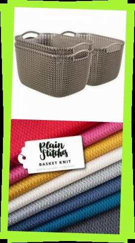 Photo of Curver Knit S Aufbewahrungsboxen Wei 296 X 222 X 172 Cm Curvercurver