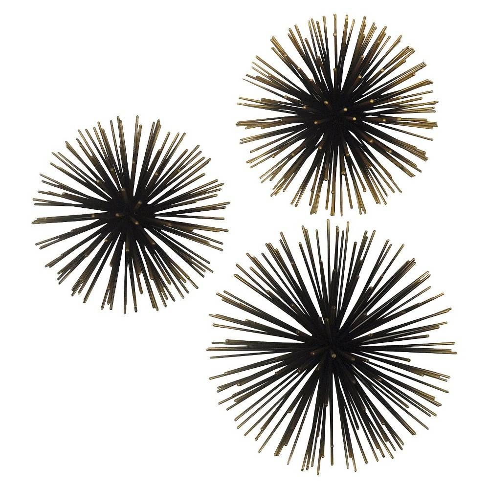 Find Decorative Wall Art At Target Com These Sea Urchin Ornamental Wall Decorations Make Your Decorative Wall Sculpture Textured Wall Art Interior Wall Decor