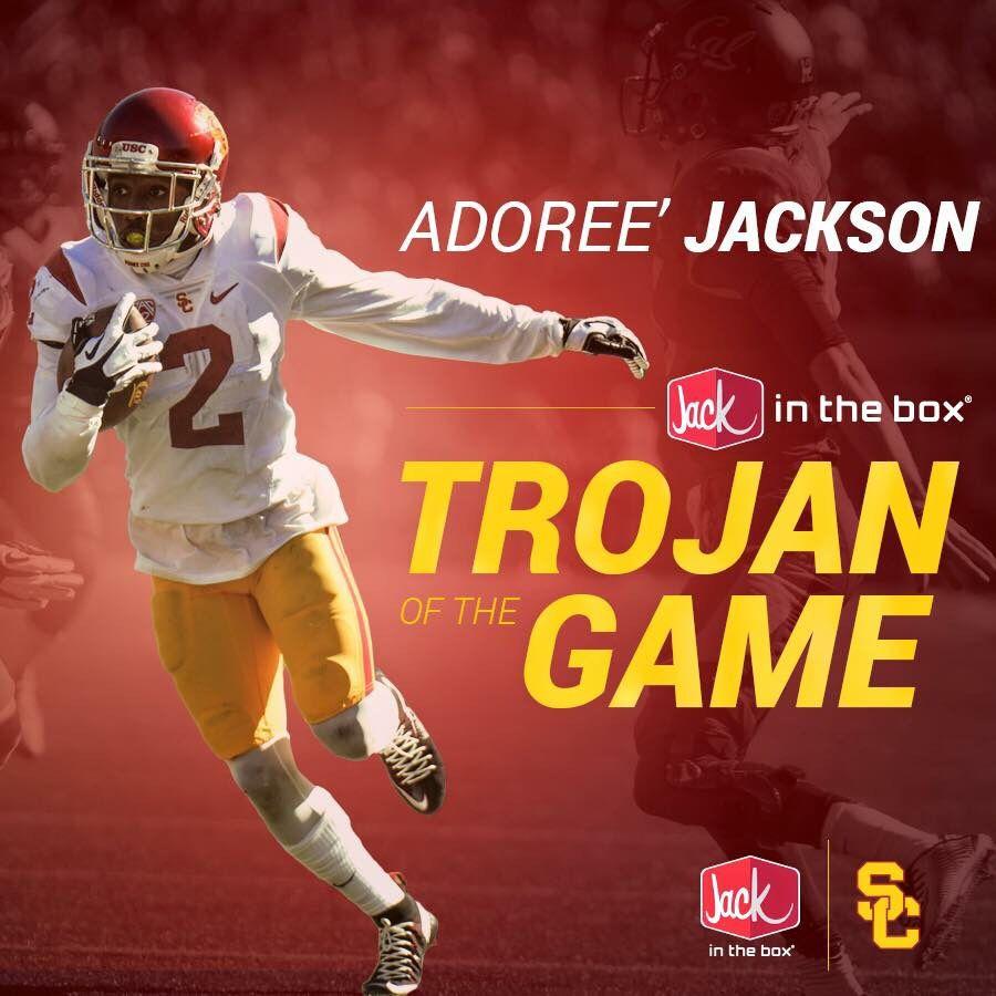 Adoree Jackson Usc Trojans Football Usc Trojans Trojans Football