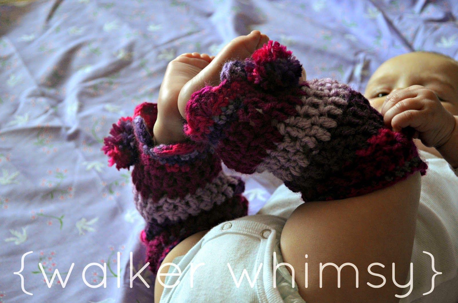 walker whimsy}: Striped Leg Warmers {FREE Crochet Pattern of the ...