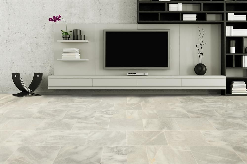 Exceptional BuildDirect U2013 Marble Tile U2013 Fume Gray   Living Room View   Real Marble    This Part 11