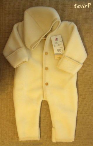 2ac81ecb488c Details about ENGEL Romper 100% MERINO WOOL baby newborn organic ...