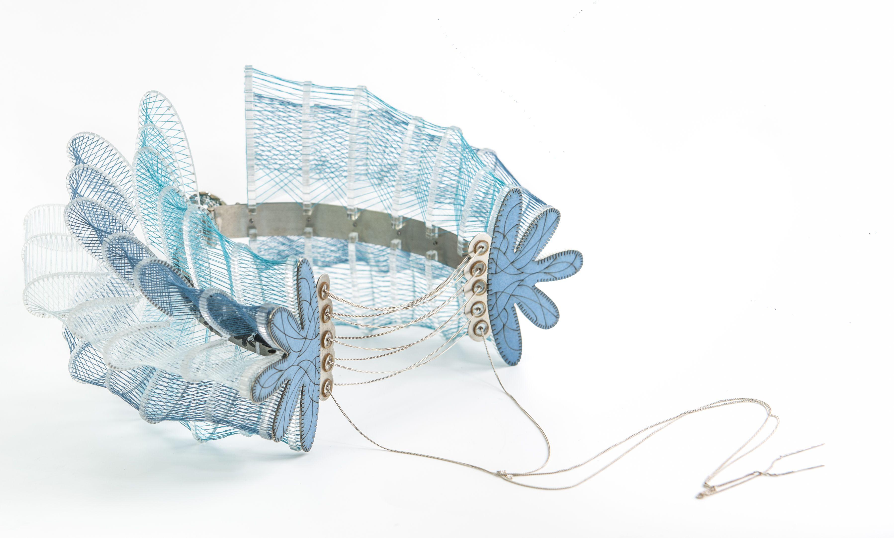 Neck-Sholder Jewelry Design by Dana Levy