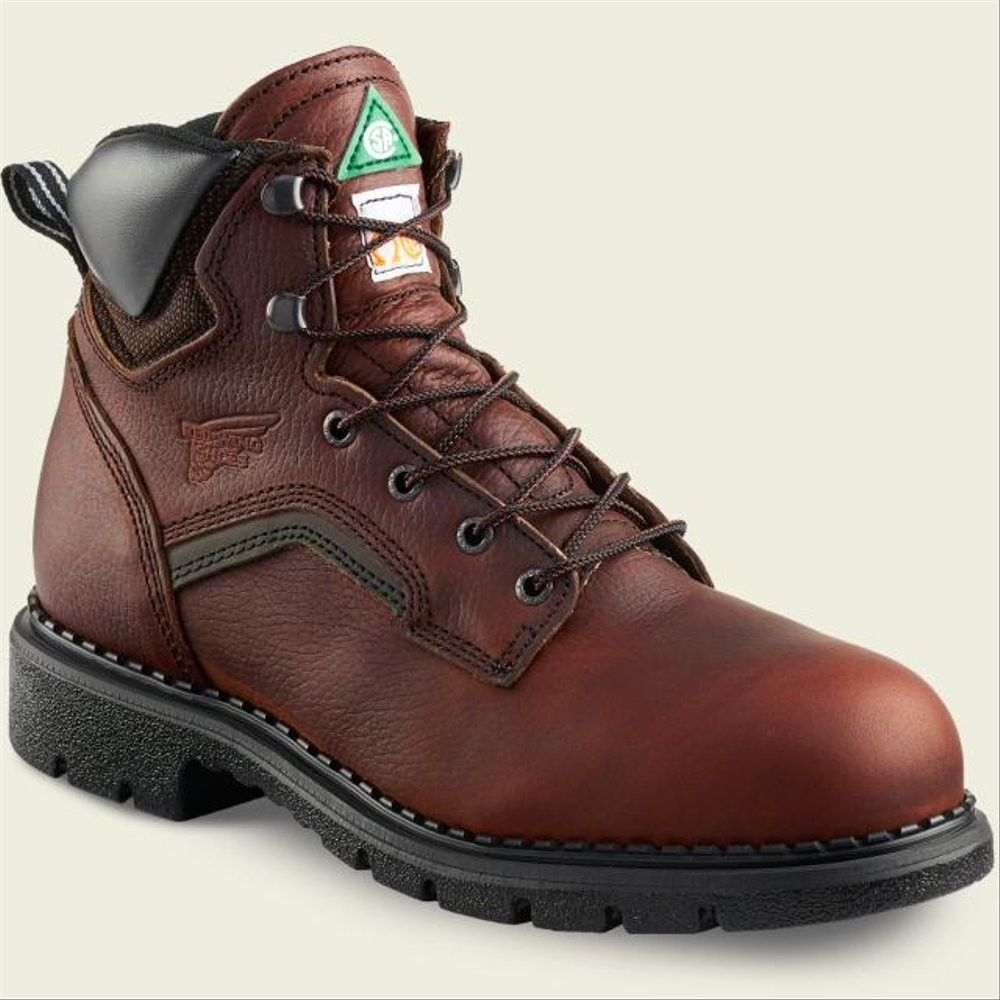 Pin oleh haris di red wing safety boots 3526