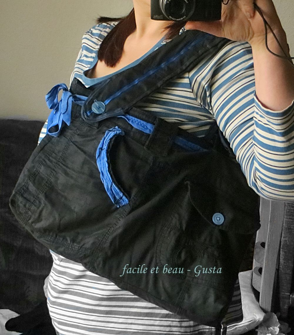 facile et beau - Gusta: Upcycling - one more bag