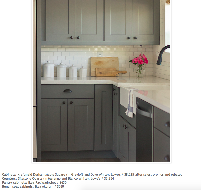 Cabinet Refacing Colors: Design Board - 41st Street - East