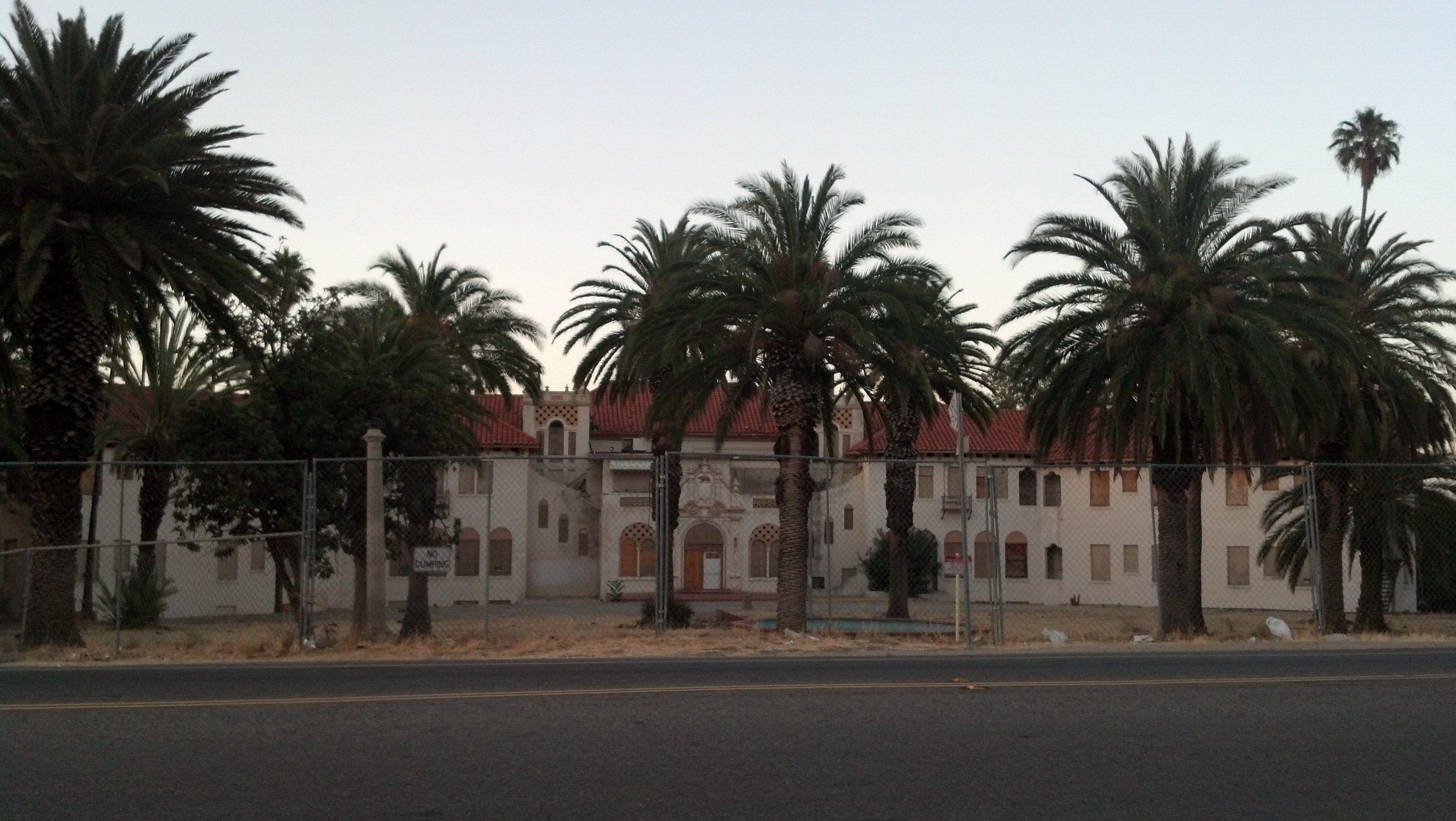Abandoned Lake Elsinore Military School