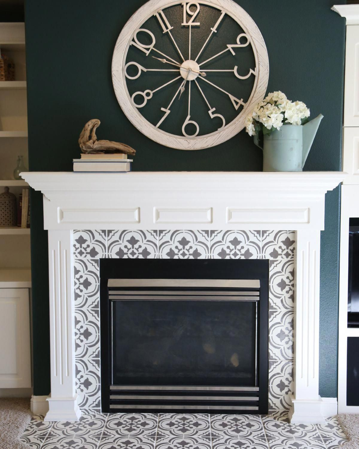 How to remove the smell of frying? Fireplace tile