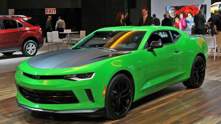 2017 Chevrolet Camaro 1le Chicago 2016 Photo Gallery Green Car