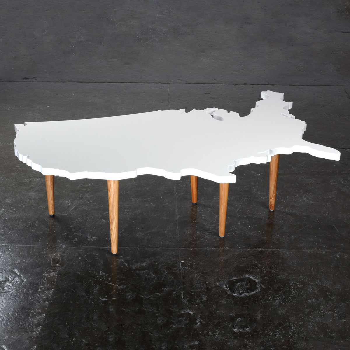 Modern Coffee Tables Usa: USA Coffee Table - Now That Is Patriotic!