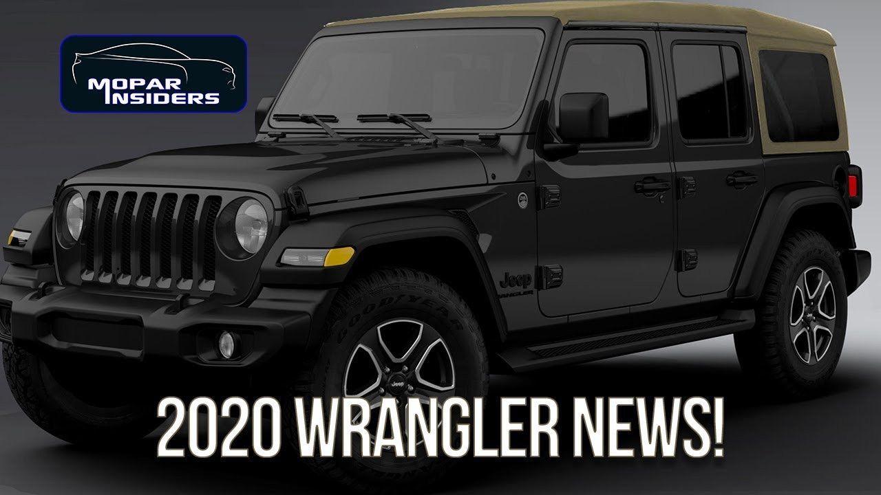 2019 Vs 2020 Jeep Wrangler Review for 2019 Vs 2020 Jeep
