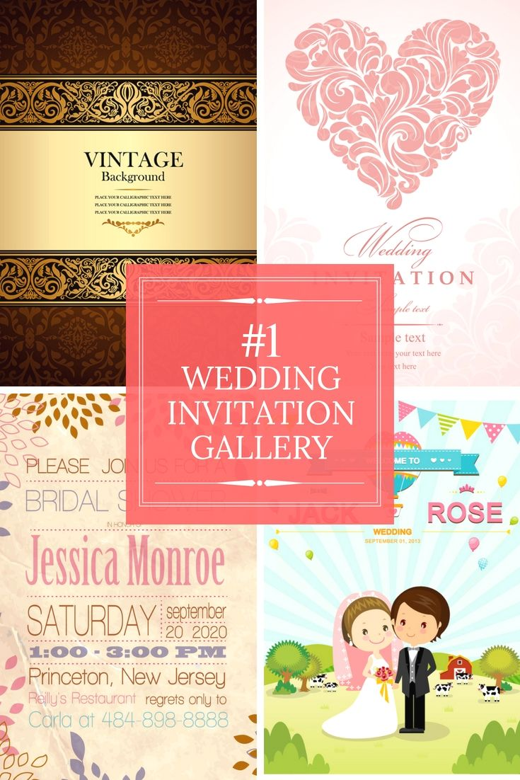 Completely Free Wedding Invitation Cards Samples - Begin Making Your ...