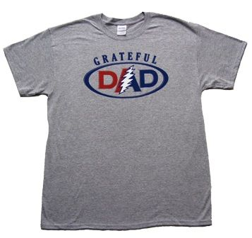 45e0870ba $19.99 - Grateful Dead - Grateful Dad T-Shirt. If you're a deadhead and a  father, you'll love wearing this t-shirt!