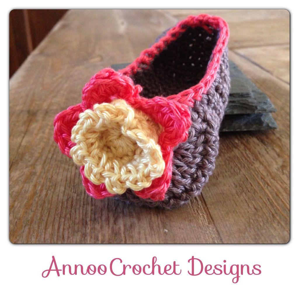 Gardenia Baby loafers Free Pattern   sk patterns   Pinterest ...