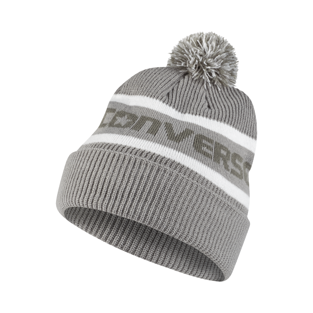 9dc12a860ae2 Converse Jacquard Pom Watchcap Knit Hat (Grey) - Clearance Sale ...