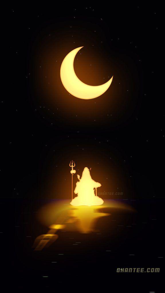 lord shiva glowing hd phone wallpaper | 2021