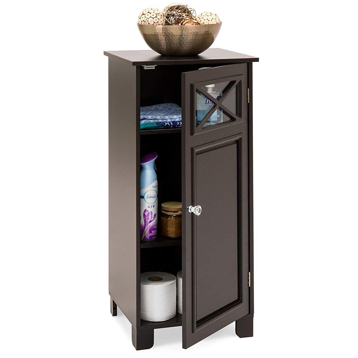 Small Floor Cabinet With Door Espresso Storage Cabinets Adjustable Shelving Storage And Organization Small storage cabinets with doors