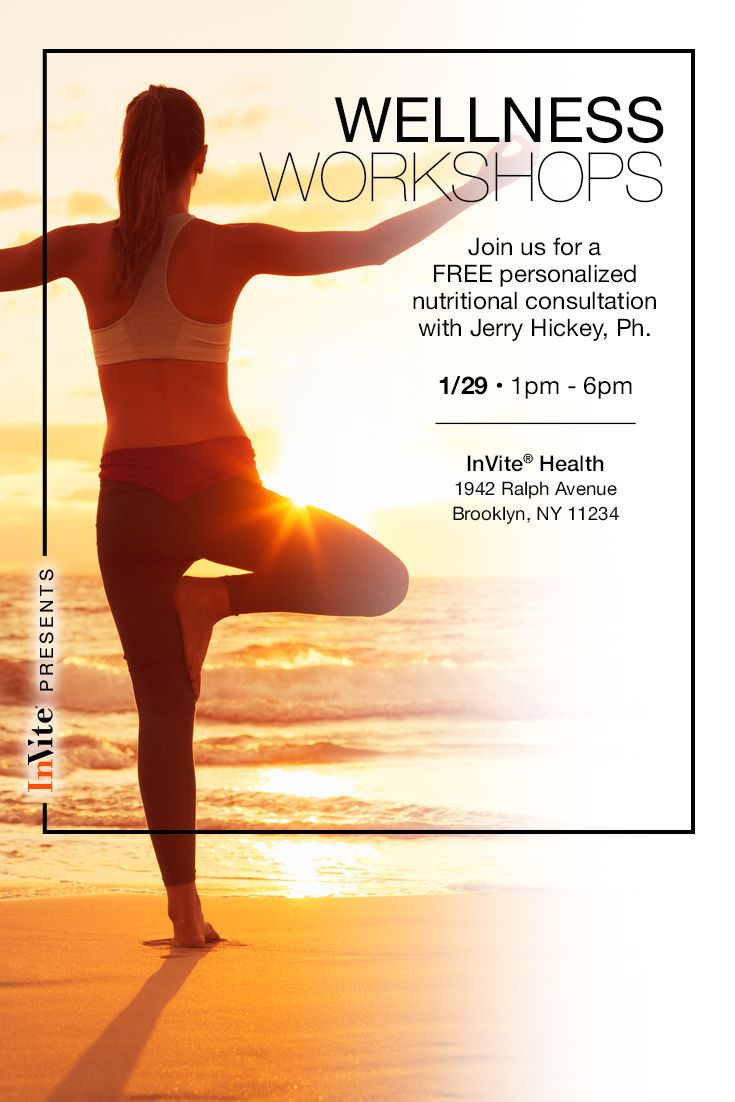 Join us Tuesday 1/29 in Brooklyn for a Wellness