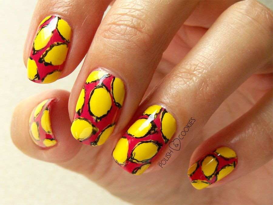 Lemon Nails Nail Art Tutorial