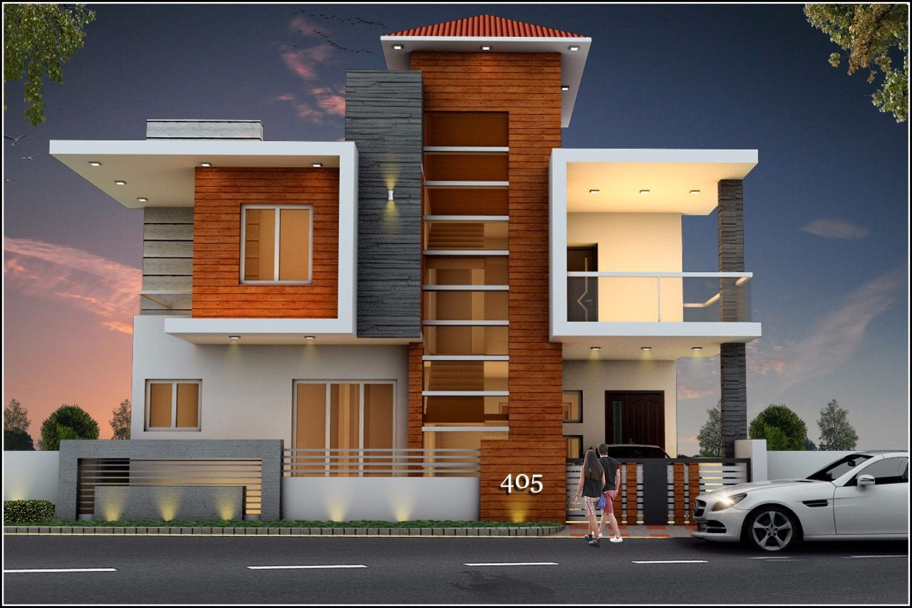 Pin By Ramkumar On Building Elevation Best Small House Designs Duplex House Design House Front Design
