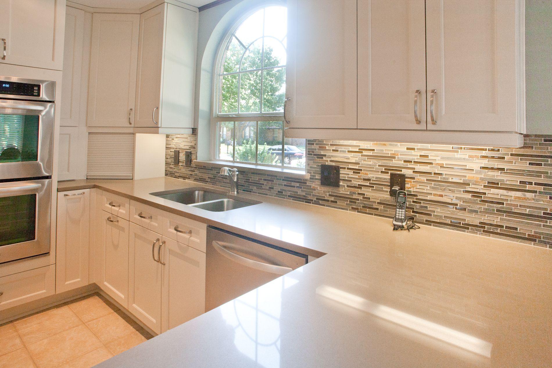 Kitchencraft Cabinets Lexington Door In Seashell Glazzio Sag