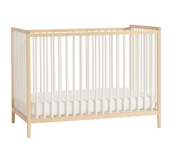 Knox Convertible Crib Natural Simply White Ups Nursery