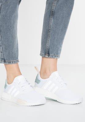 K - P adidas Originals NMD R1 W zapatillas Blanco / táctil Verde för 1