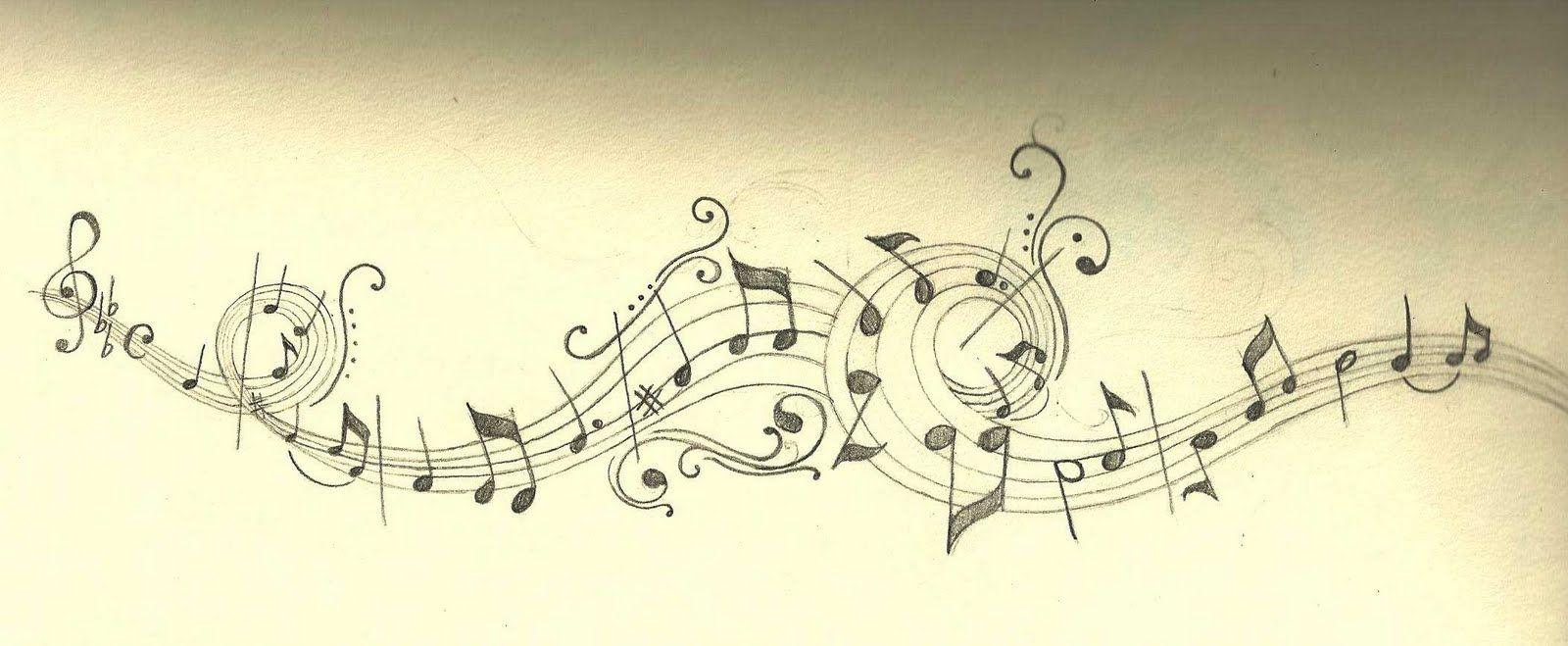 minnon: Cinta\'s Music Notes | tattoos | Pinterest | Music notes ...