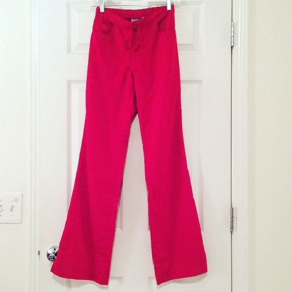8d0ae1f05de Grey's Anatomy Red Scrub Pants Gorgeous Crimson red Grey's Anatomy scrub  pants. Color is called