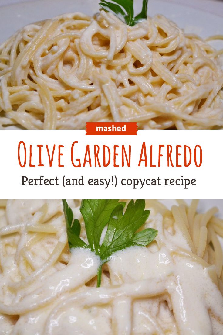 How to make perfect olive garden alfredo sauce recipe