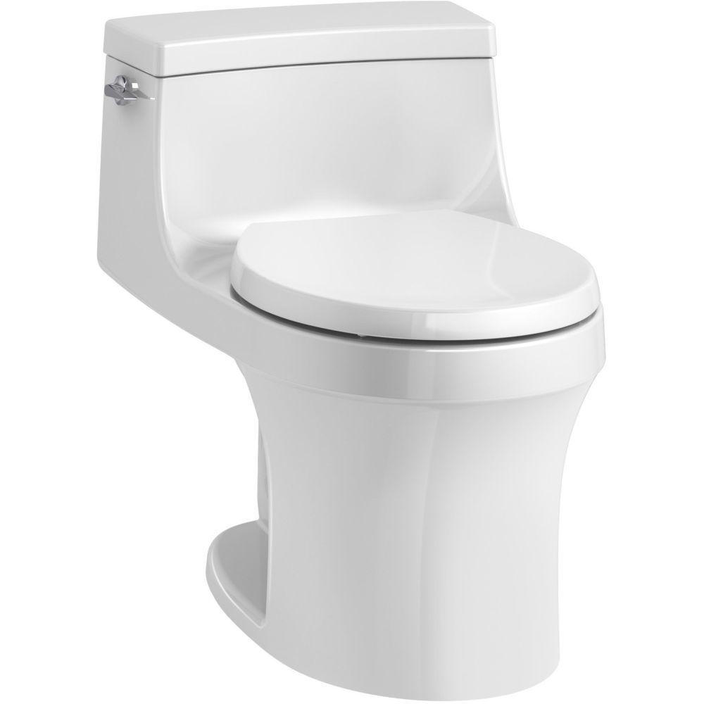 Kohler K 4007 0 San Souci White One Piece Round Bowl Toilets